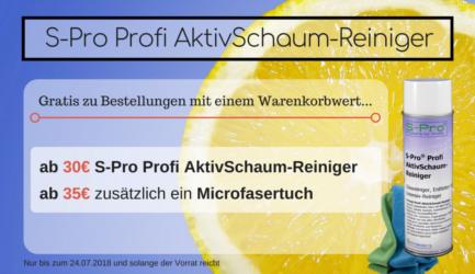 S-Pro Profi AktivSchaum-Reiniger Aktion